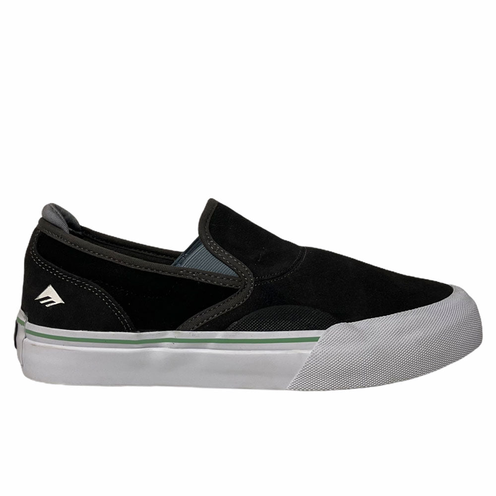 Emerica Wino G6 Slip On Dark Grey Black