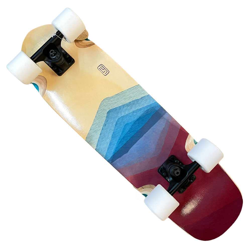 Landyachtz Complete Pocket Knife FG Watercolor 9.1x29.6