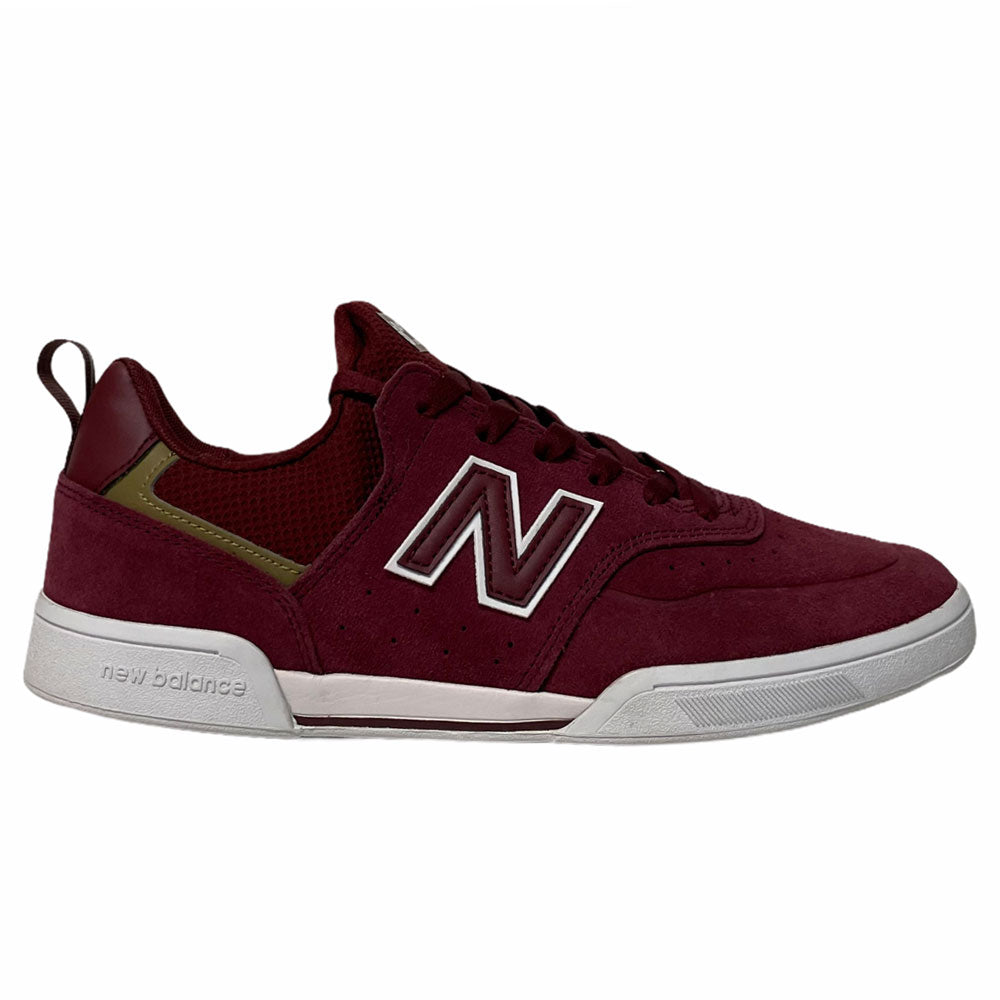 New Balance NM288SFL Burgundy White