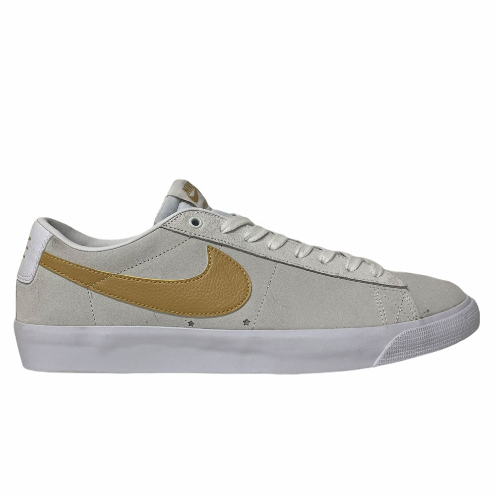 Nike SB Blazer Low GT White Club Gold