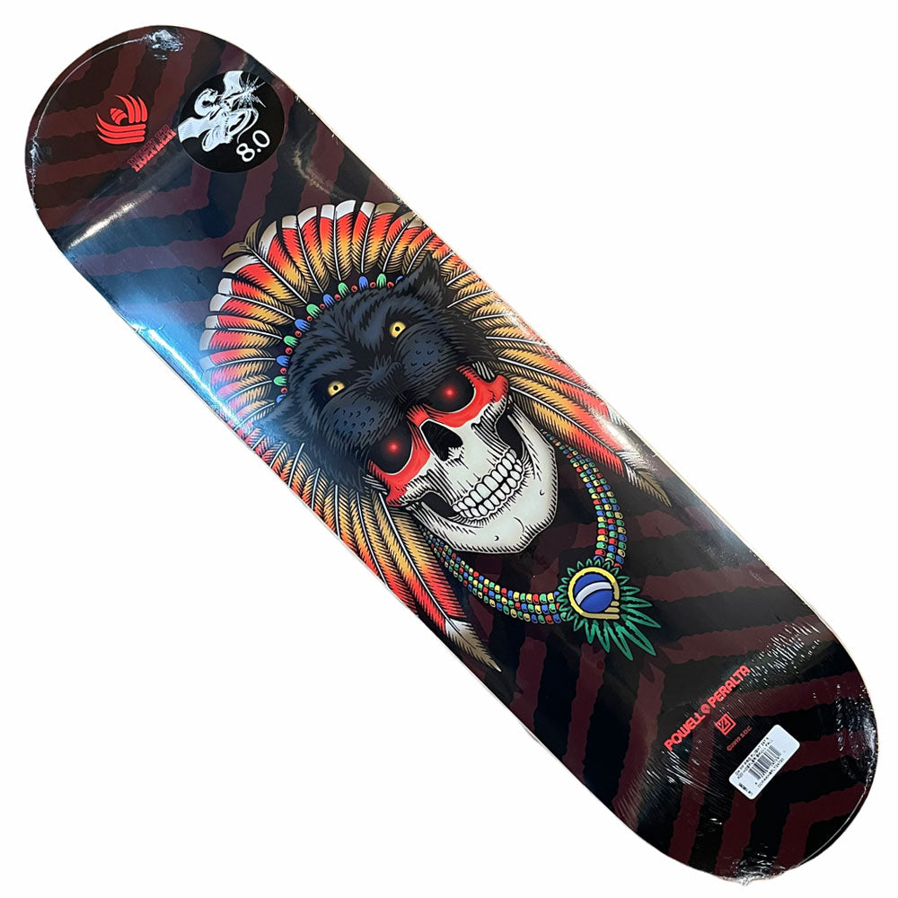 Powell Peralta Flight Deck Hoefler Skull 8x31.3