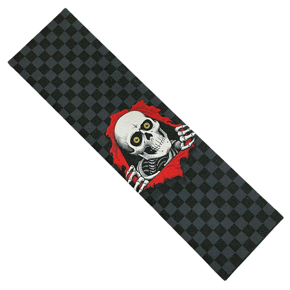 Powell Peralta Griptape Ripper Tonal Black Checker