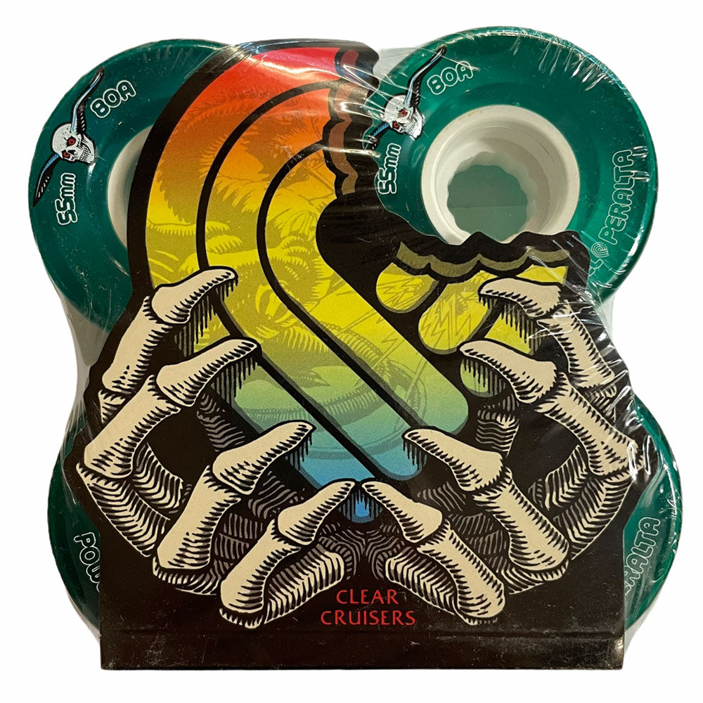 Powell Peralta Wheels Clear Cruiser 55mm80A GREEN