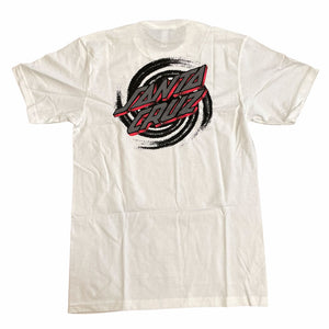 Santa Cruz Tee Portal Dot White