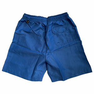 Southside Script Water Short Embroidered Royal