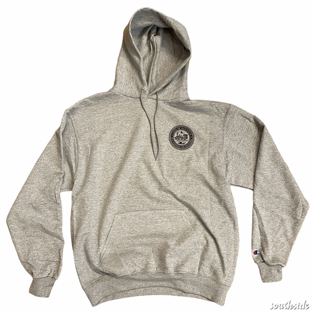 Southside x Champion City Of Houston Hoodie Sport Gray