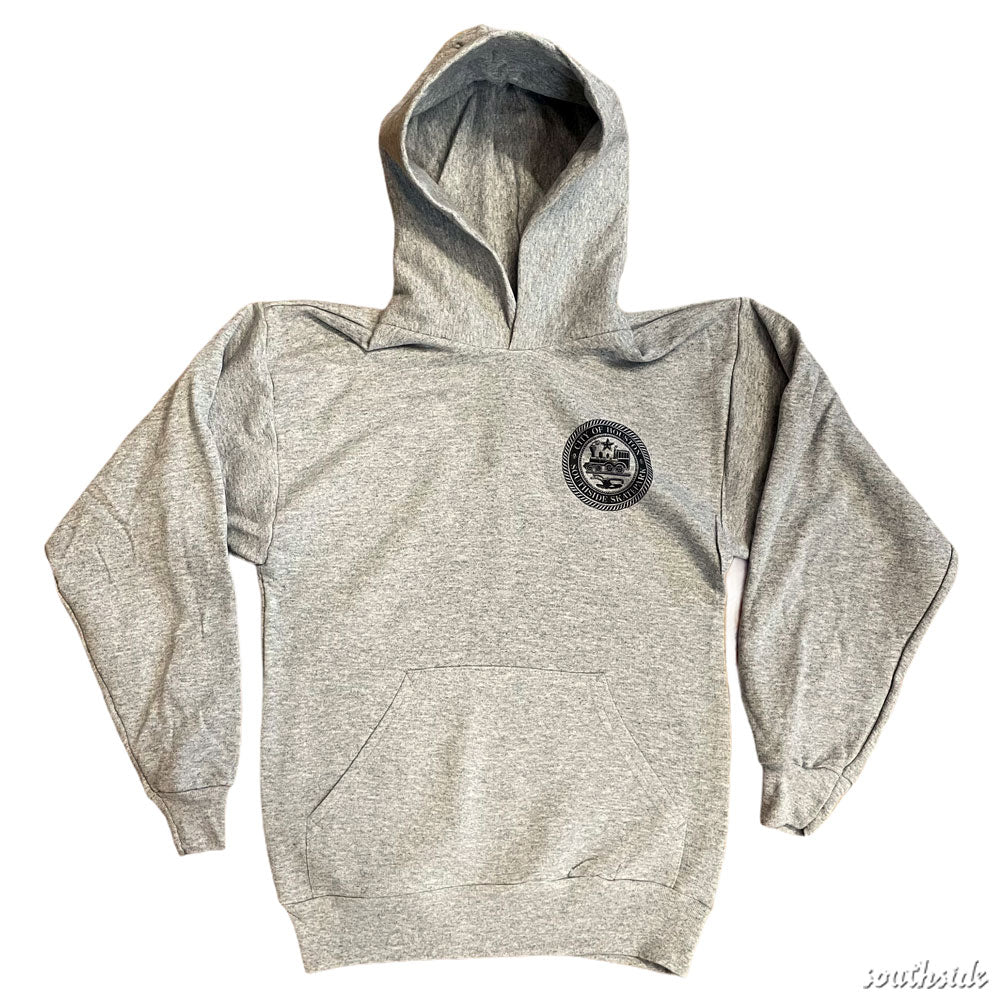 Southside YOUTH City Of Houston Hoodie Sport Gray
