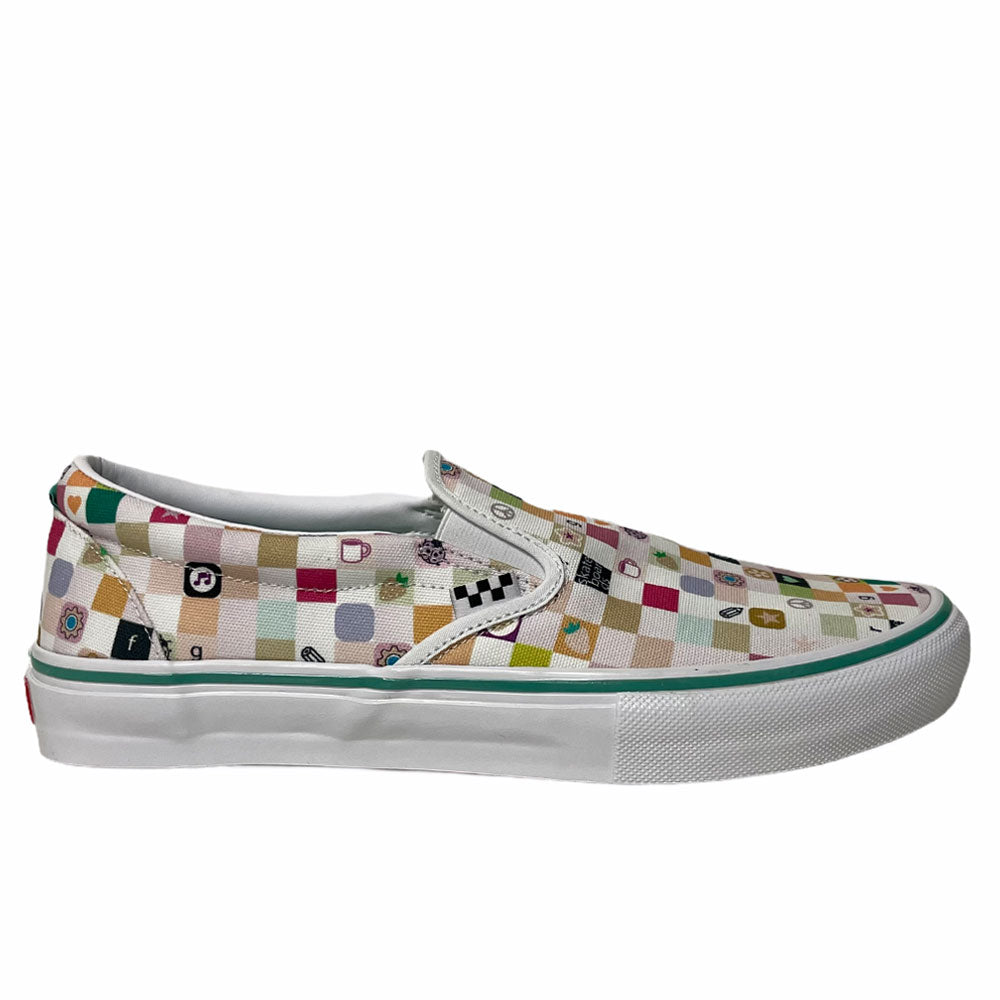 Vans Skate Slip On LTD FROG White White