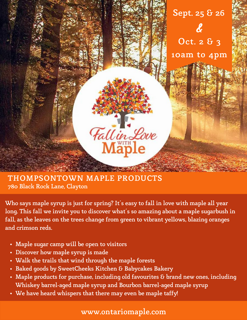 Fall in Love With Maple
