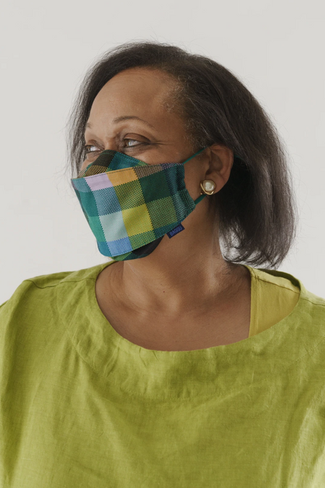 Fabric Mask Set (Loop) in Madras