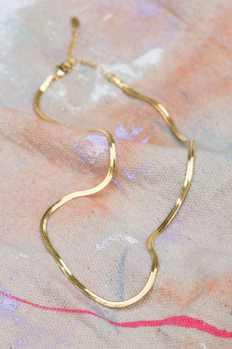 Harriet Necklace in Gold