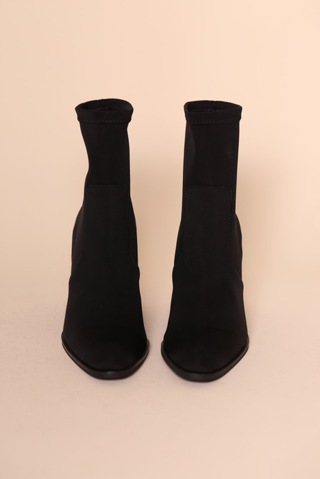 Janet Boot in Black Scuba