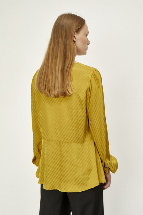 Magna Blouse in Dried Tobacco