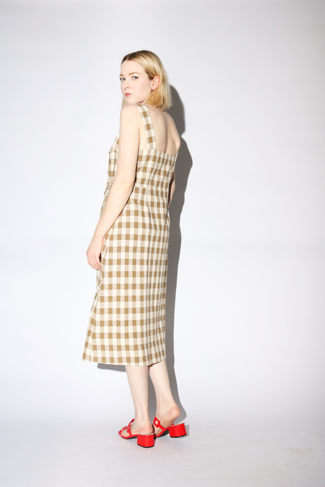 Laila Dress in Tan