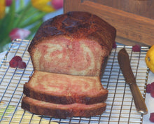 Load image into Gallery viewer, Raspberry lemon pound cake will become your family favorite