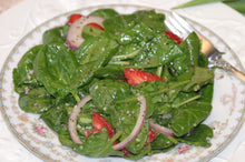 Load image into Gallery viewer, Spinach Salad with Strawberries teams your salad greens with a contrast of color for eye-popping presentation and taste.