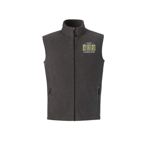 Troop 439 - Embroidered Men's Sleeveless Vest (Pre-Order 1190)