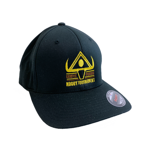 CowPie Tournament Logo Hat - Black