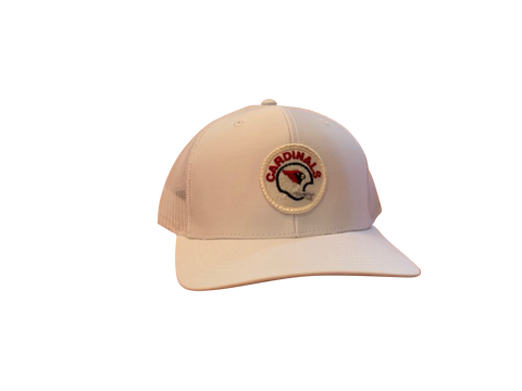Arizona Cardinals Patch Trucker Cap - White