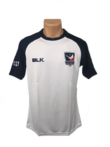 Texas Rugby Referee BLK White Jersey