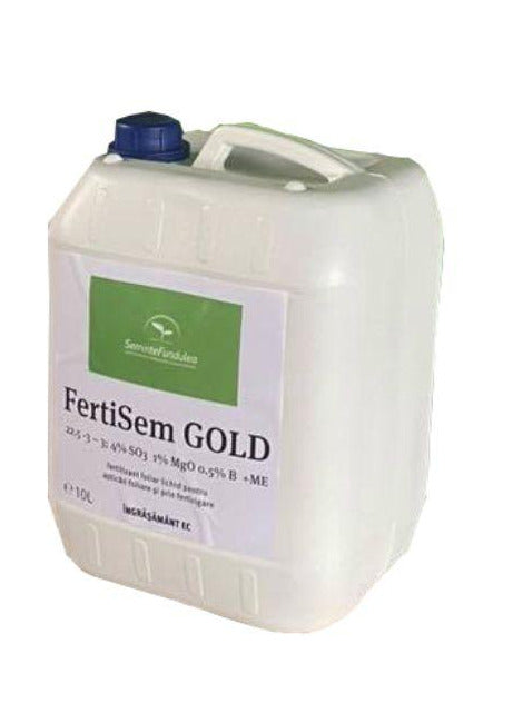 FertiSem GOLD 10L - Fertilizant foliar lichid