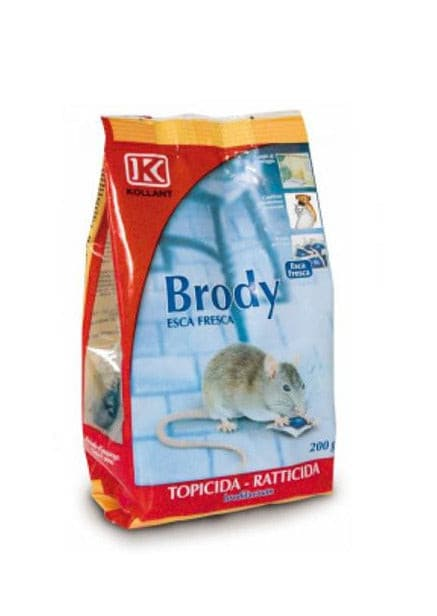 Raticid brody Pasta