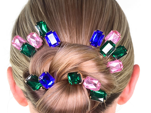 Ballerina Bun Hairstyle - How To Wear Hair Clips - BEAU MANE