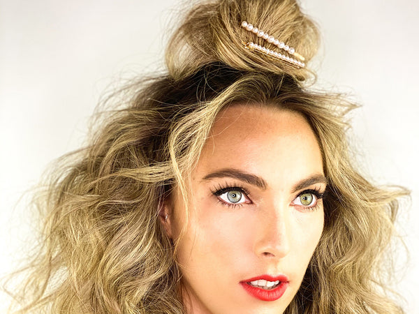 Beachy Wave Topknot - How To Wear Hair Clips - BEAU MANE