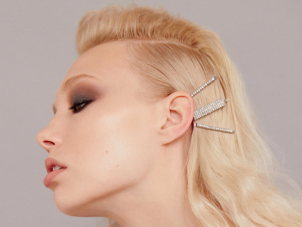 Extreme Glam Hair Pin - How To Wear Hair Clips - BEAU MANE