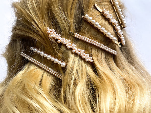 Half-Up Half-Down Waves - Hair Clip Hairstyles - BEAU MANE
