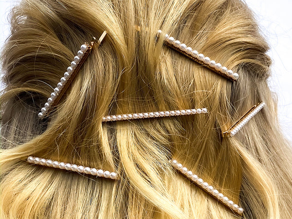 Pulled Back Wave Hairstyle - How To Wear Hair Clips - BEAU MANE