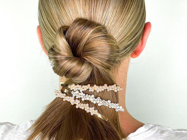 Twisted Bun Hairstyle - Hair Clip Hairstyles - BEAU MANE