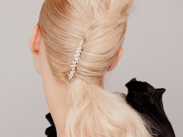 Twisted Ponytail Upstyle - Hair Clip Hairstyles - BEAU MANE