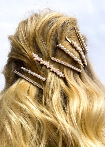 Half-Up Half-Down Waves - How To Wear Hair Clips - BEAU MANE