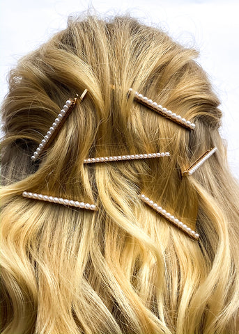 Pulled Back Wave Hairstyle - Hair Clips Hairstyle - BEAU MANE