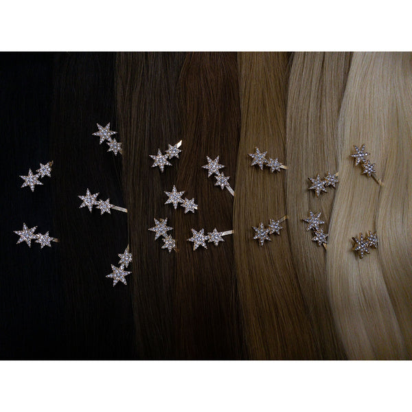 Hair Colour Chart - Gold Star Hair Clip - Hair Clips Australia - BEAU MANE