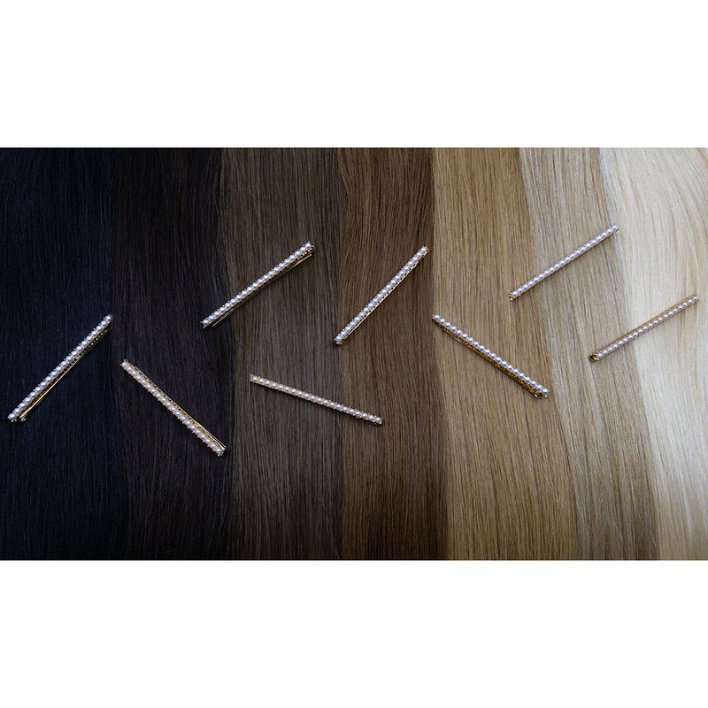 Hair Colour Chart -  Mini Pearl Hair Pin - Beautiful Hair - BEAU MANE