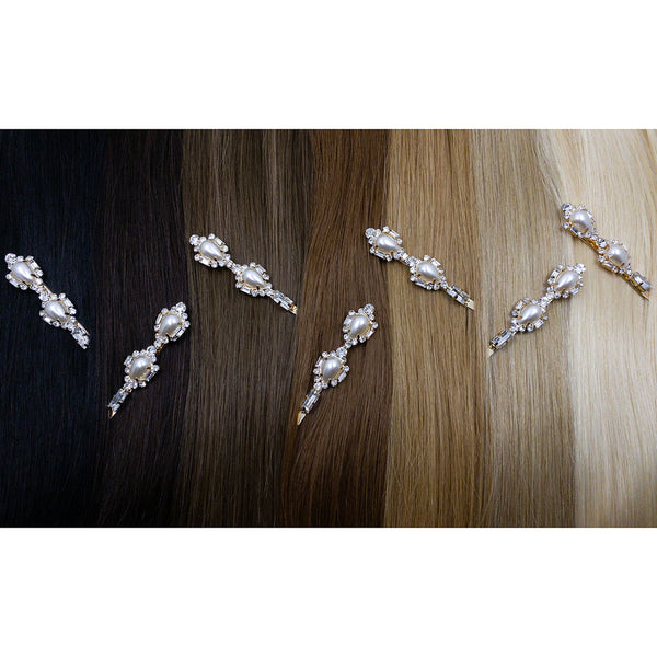 Hair Colour Chart - Vintage Glam Hair Pin - Hair Clips Australia - BEAU MANE