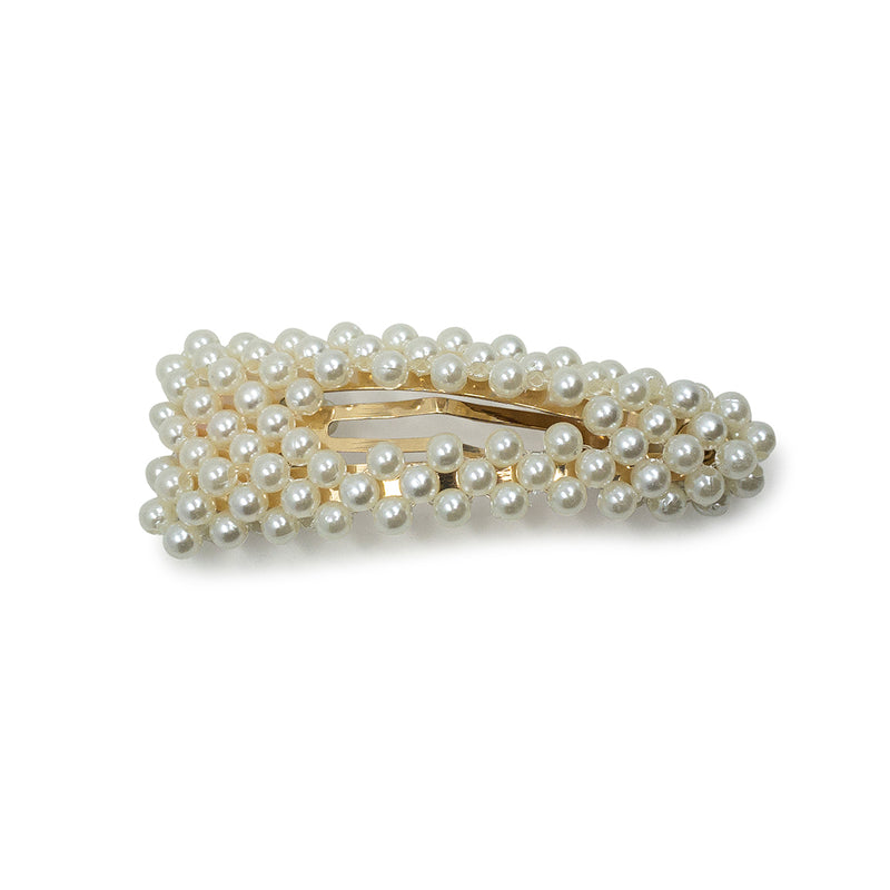 Small Pearl Snap Clip - Hair Accessories Australia - BEAU MANE