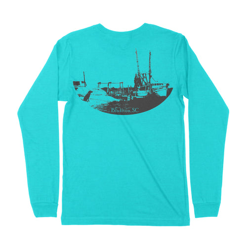 Bluffton Long Sleeve T-shirt -back