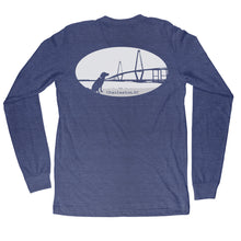Load image into Gallery viewer, Charleston Ravenel Bridge Long Sleeve T-shirt