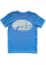 Load image into Gallery viewer, Charleston Ravenel Bridge Short Sleeve Youth T-shirt