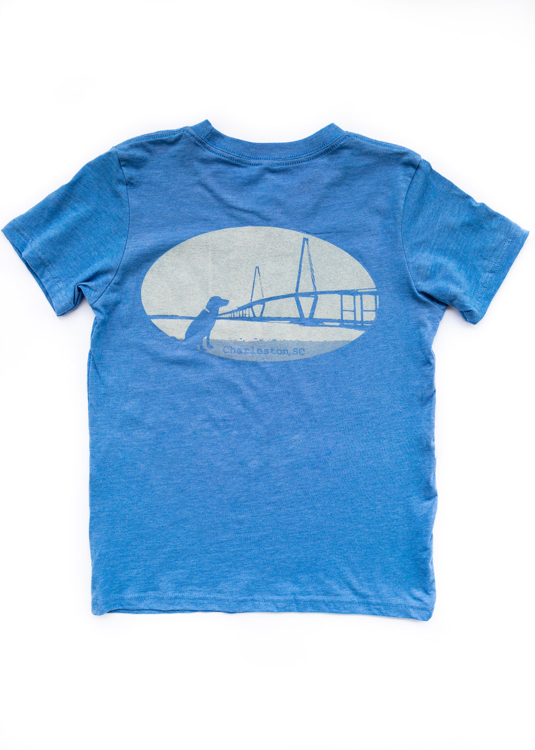 Charleston Ravenel Bridge Short Sleeve Youth T-shirt