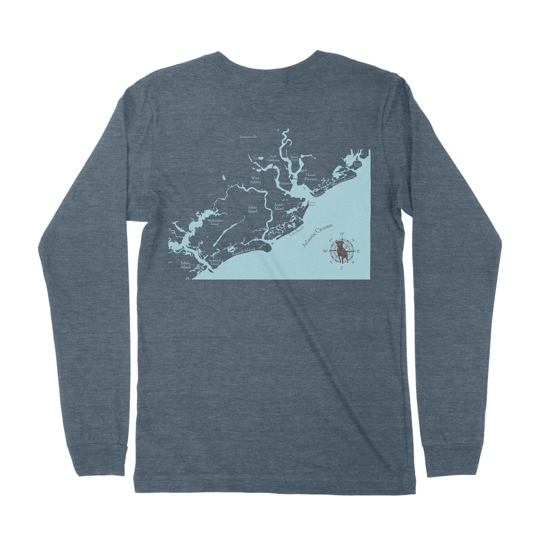 Charleston Waterways Long Sleeve T-shirt