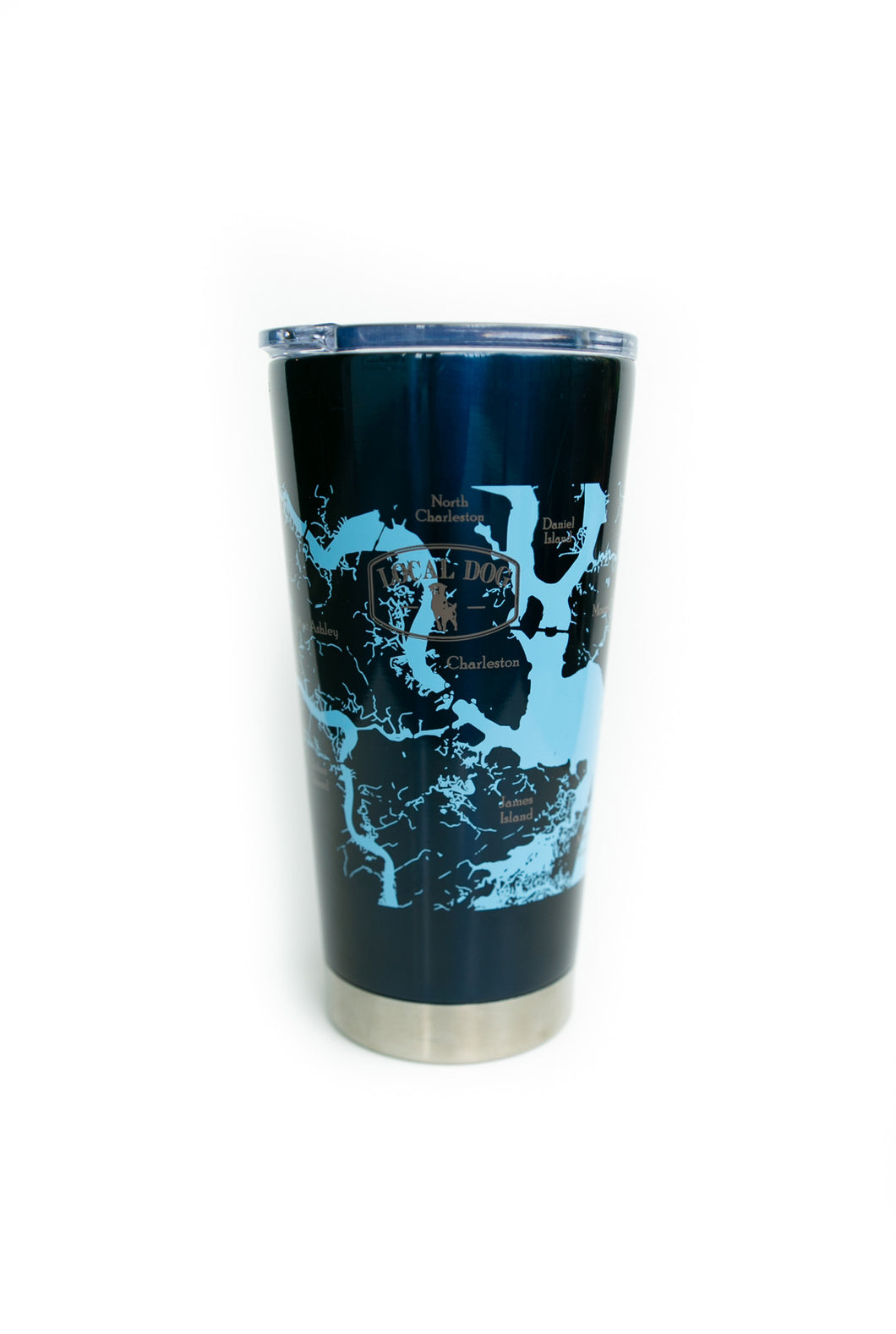 Navy Blue Stainless Steel Tumbler