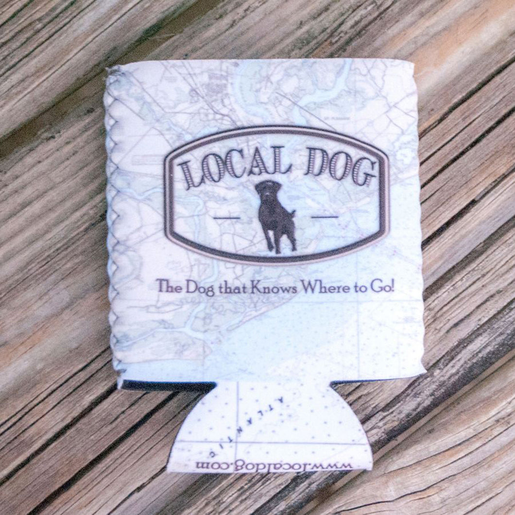 Local Dog Neoprene Coozie