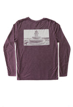 Load image into Gallery viewer, Charleston-Pineapple Fountain Long Sleeve T-shirt