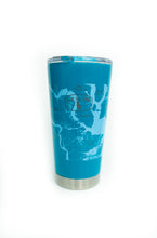 Load image into Gallery viewer, Turquoise Stainless Steel Tumbler