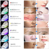 Foreverlily LED Light Photon Therapy Mask 7 Color Light Treatment Skin Rejuvenation Whitening Facial Beauty Daily Skin Care Mask