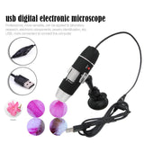 Wholesale1600X /1000X/500X Mega Pixels 8 LED Digital USB Microscope Microscopio Magnifier Electronic Stereo USB Endoscope Camera